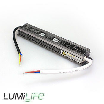 Lumilife - New 50 Watt LED Transformer/Driver for Powering 12 volt LED Lighting