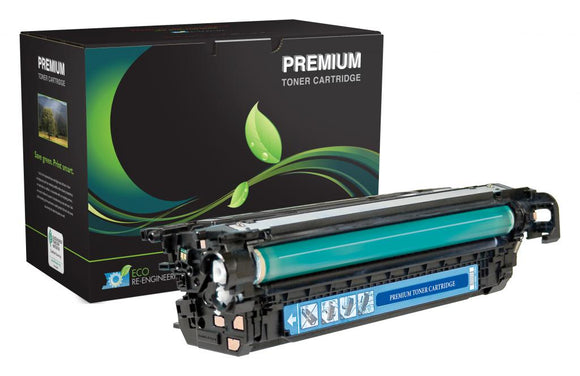 Extended Yield Cyan Toner Cartridge for HP CE261A (HP 648A)