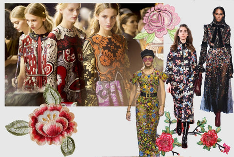Floral print women's fashion trends