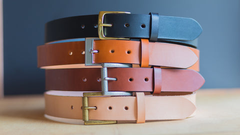 Handcrafting Leather Belts in the San Francisco Bay Area