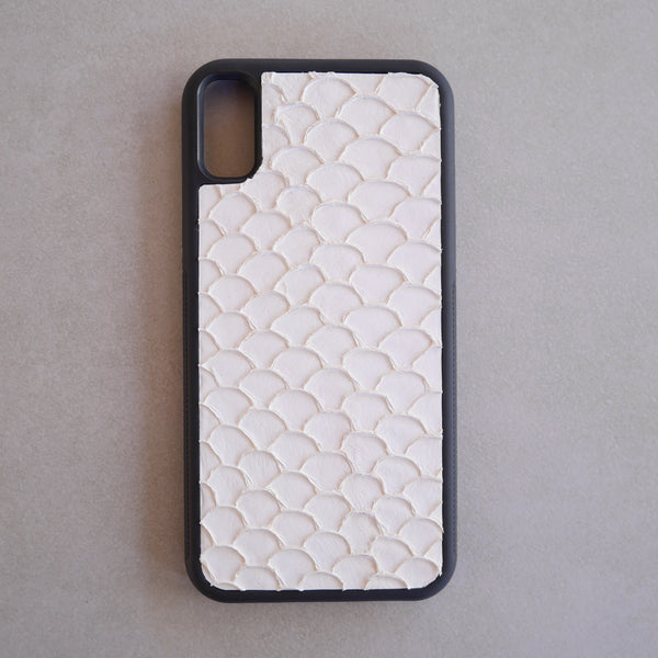 Fish Skin Leather iPhone Case