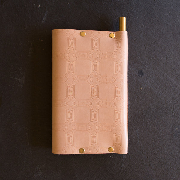 Personalized Leather Travel Wallet All-on-One Passport journal Cover