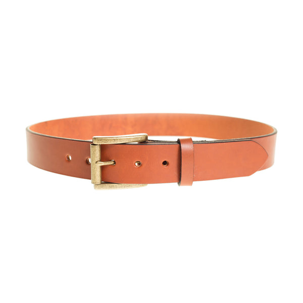 full grain leather work belt