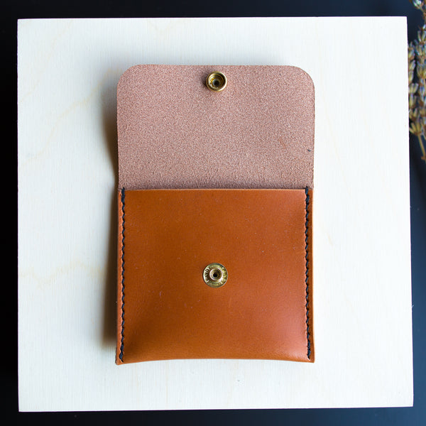 Personalized Leather Coin Purse