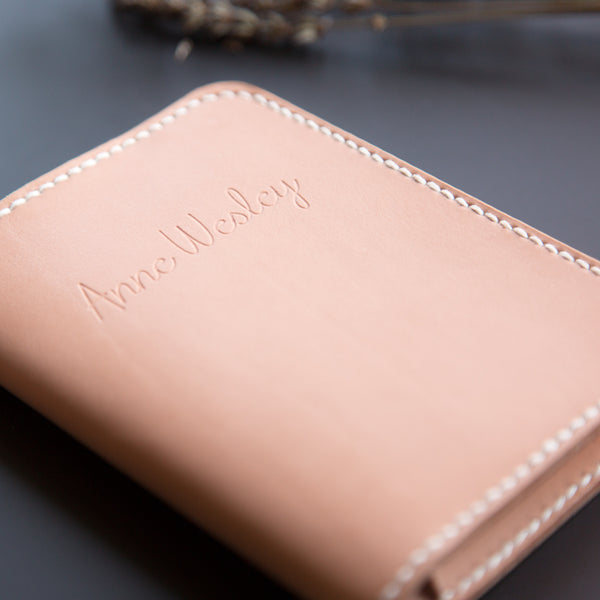 d77632a54 Handmade Leather Passport Wallet - Holder - Cover - Personalized ...