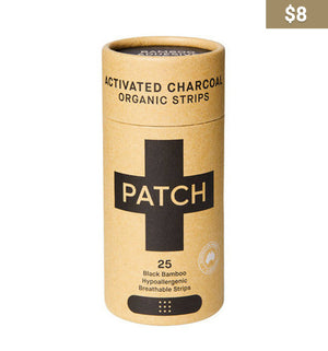 Activated Charcoal Patch Strips - Earth Interiors