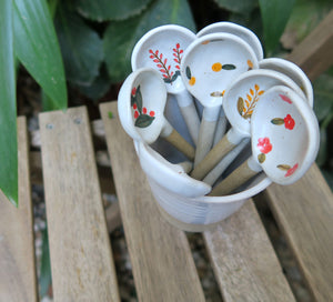 Handmade Ceramic Spoons - Earth Interiors