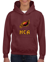 Hawks pullover hoodie with front crest - CHILD SIZES