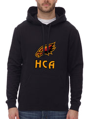 Hawks pullover hoodie with front crest - ADULT