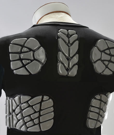779111a9ac ZOOMBANG - Padded Adult Lacrosse Shirt - Back/Ribs/Bicept – OTB Athletic