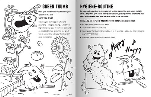 """Fun Being Healthy"" Coloring Book - NEW!"