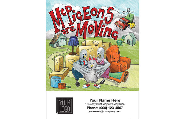 """McPigeons are Moving"" Coloring Book"