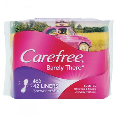 CareFree Panty Liners Barely There Scented 42