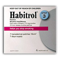 Habitrol Patch 7mg Step3  (4x7 Pack)