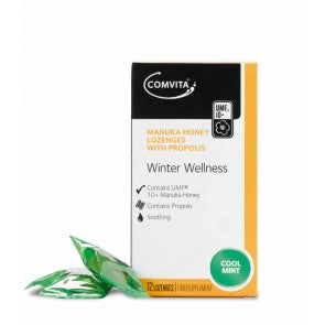 COMVITA Manuka Honey Lozenges Coolmint 12