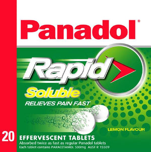 Panadol Rapid Soluble 20s