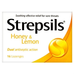 Strepfen Honey & Lemon Lozenges 16s