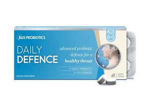 Blis DailyDefence Vanilla Lozenges 30s