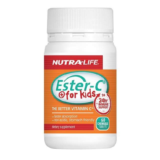 NL Ester C For Kids 60Tab