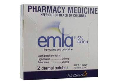 EMLA Patches 2pack