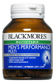Blackmores Mens Performance Multi Tabs 50s
