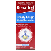 Benadryl PE Chesty Cough & Nasal Congestion 200ml