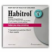 Habitrol Patch 21mg Step1 (7 Pack)