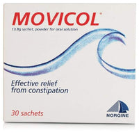 MOVICOL POWDER SACHETS 30
