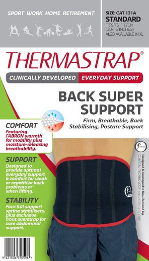 Thermastrap Back Support XL