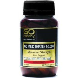 Go Healthy Milk Thistle 50000 60s