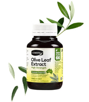 Comvita Olive Leaf Extract High Strength 60s