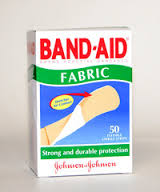 BANDAID Fabric Plasters 50s