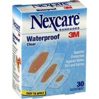 Nexcare Waterproof Bandage 20 Assorted Sizes
