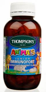 Thompsons Fortify Junior Immunofort 90s