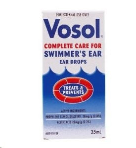 VOSOL Ear Drops 35ml