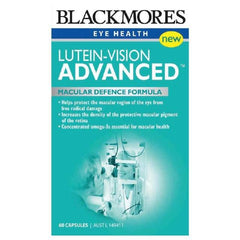 Blackmores Lutein Vision Advanced 60