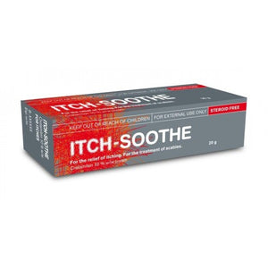 Itch Soothe Cream 10% 20g