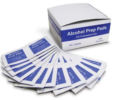 ALCOHOL PREP PADS / WIPES 35 X 30MM 2PLY 200's