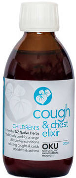 OKU Cough & Chest Elixir Child 100ml