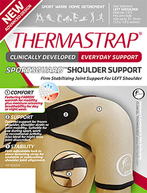 THERMASTRAP Sports Guard Shoulder Support Large-Right