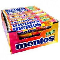 SWEET MENTOS FRUIT ROLLS 40g PK 40