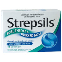 STREPSILS Throat & Nose Lozenges 16s