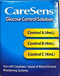 Caresens Control Solution A.B.C 3pk