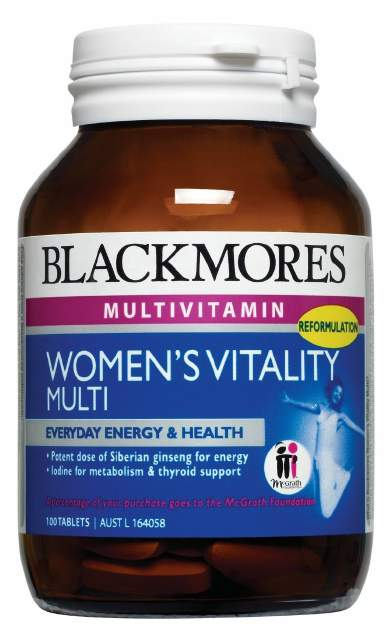 Blackmores Women's Vitality Multi 100 Tabs