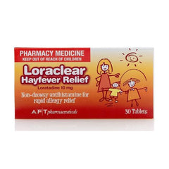 LORACLEAR Hayfever 10mg 30 tabs