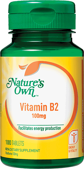 NO Vitamin B2 100mg 100tab