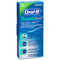 ORAL B Superfloss Unwaxed 50m
