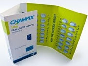 CHAMPIX Varenicline 1mg Tablets 28 (PRESCRIPTION ONLY)