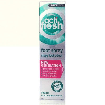 ActiFresh Foot Spray 100ml Smelly Feet Treatment