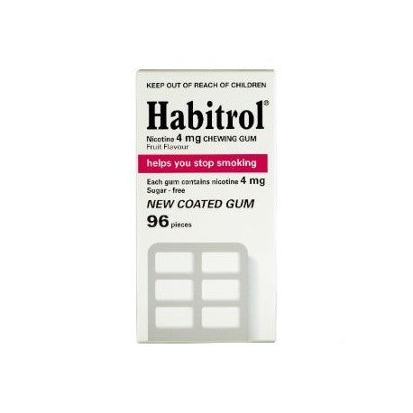 Habitrol Gum Fruit 4mg (4x96 Pack)